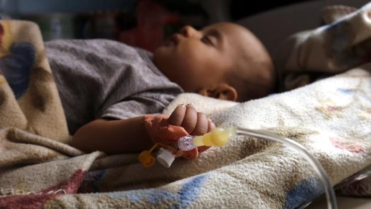 Epidemia cholery w Jemenie. Zarażonych jest już ponad 300 tys. ludzi