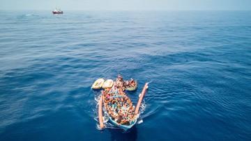 Włochy: ponad 500 migrantów uratowano w weekend na morzu
