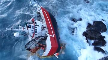 Trudna akcja ratownicza u wybrzeży Norwegii