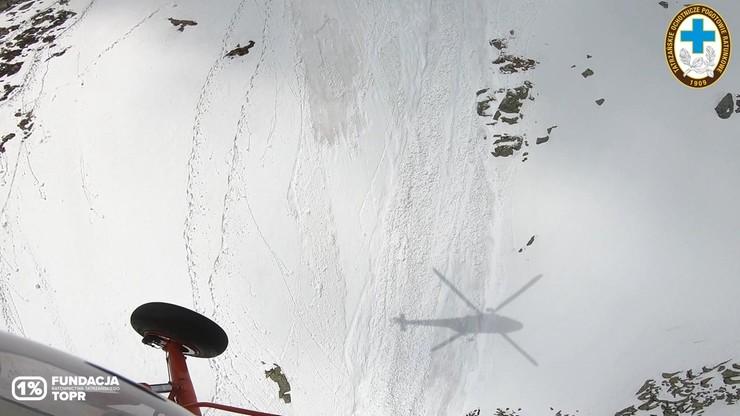 Śmiertelny wypadek na Rysach. Turysta spadł 400 metrów