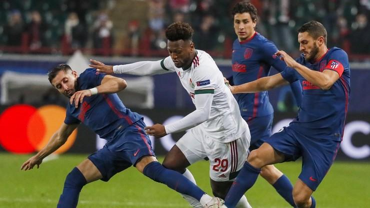 Liga Mistrzów: Lokomotiw zremisował z Atletico Madryt