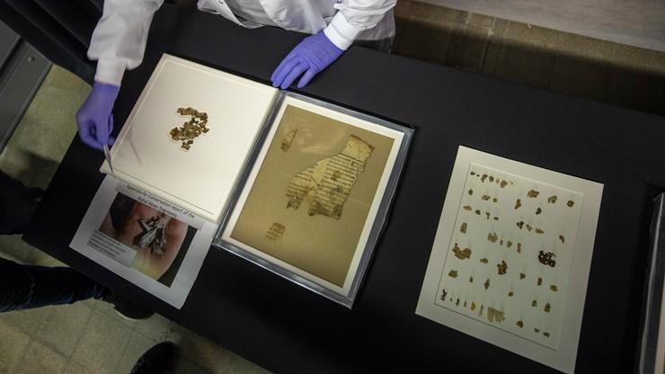 Izrael. Odkrycie nad Morzem Martwym. Archeolodzy znaleźli fragmenty Biblii