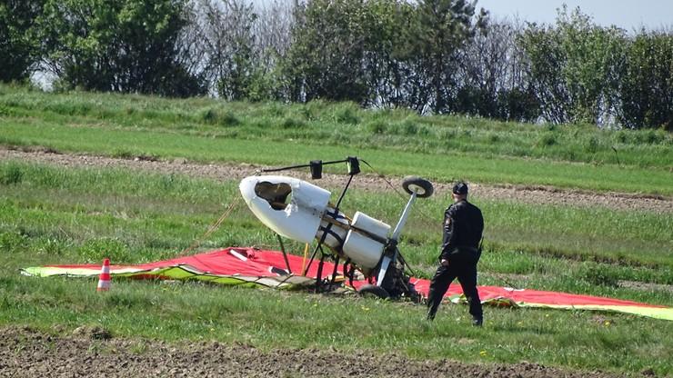 Wypadek motolotni niedaleko Janowa Lubelskiego. Pilot nie żyje