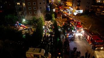 Śmigłowiec spadł na dzielnicę mieszkalną w Stambule. Zginęło czterech żołnierzy