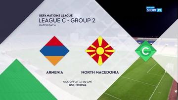Armenia – Macedonia Północna 1:0. Skrót meczu