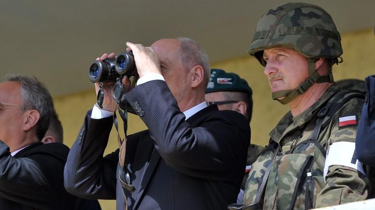 Szef MON: NATO nie pozwoli nikomu naruszyć naszych granic