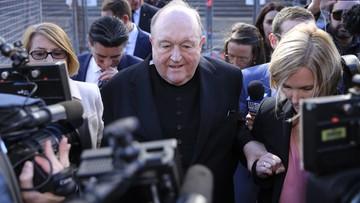 Australia: arcybiskup winny zatajenia wiedzy o molestowaniu dziecka. Grozi mu do dwóch lat więzienia