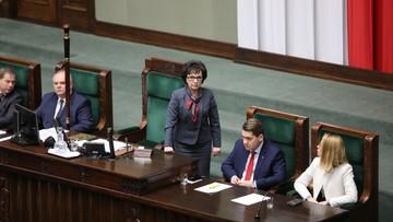Centrum Informacyjne Sejmu: marszałek nie znała wyniku głosowania w momencie jego anulowania