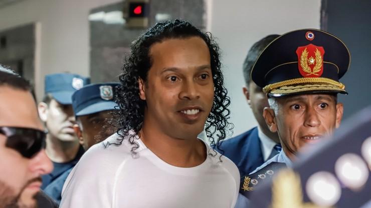 Ronaldinho aresztowany za posługiwanie się fałszywym paszportem