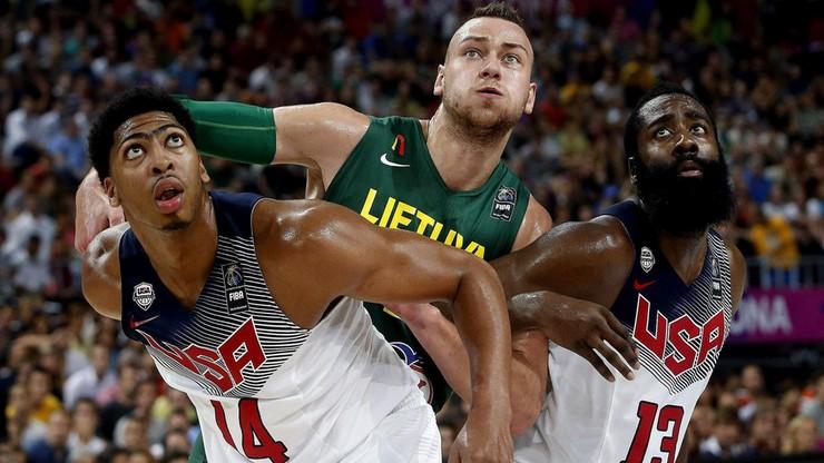 MŚ koszykarzy: Harden i Davis w szerokim składzie reprezentacji USA