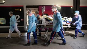 Francja: ponad 500 zgonów w ciągu doby