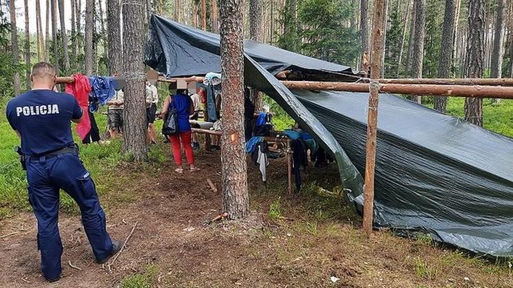 Ewakuowano obozy harcerskie. Z powodu gwałtownych burz