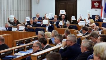 Senat wprowadził nowelizacje ws. KRS i sądów powszechnych do porządku obrad