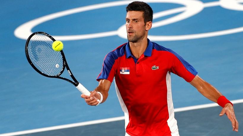 Tokio 2020: Sztab Novaka Djokovica był przeciwny grze w mikście, ale ten postawił na swoim