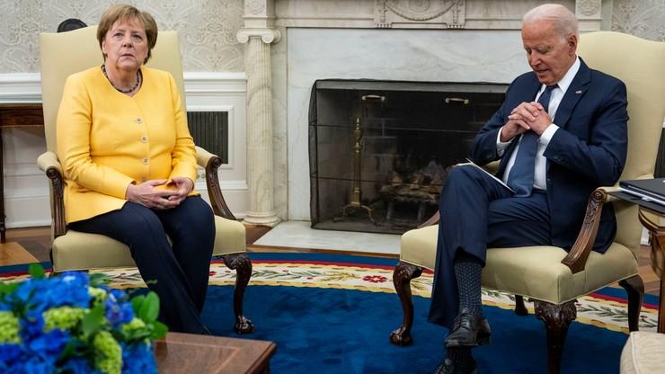 Biden spotkał się z Merkel. Mają różne wnioski na temat Nord Stream 2