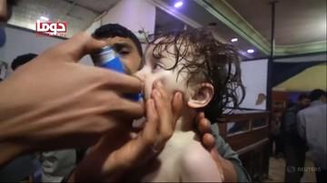 """Trump: Asad jest """"zwierzęciem"""", słono zapłaci za atak chemiczny"""