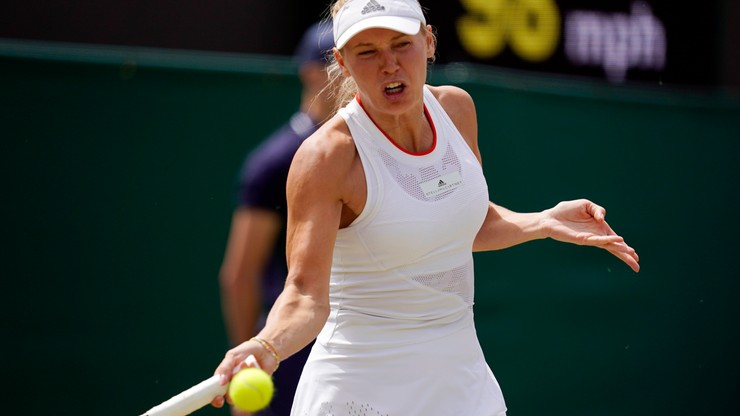 Wimbledon: Woźniacka odpadła w trzeciej rundzie
