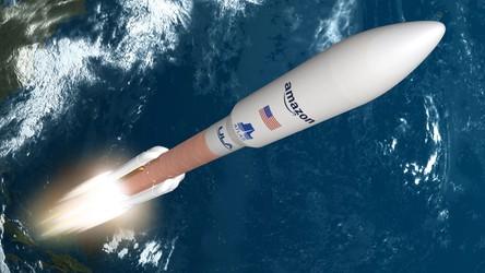 Satelity kosmicznego internetu od Amazonu polecą na orbitę rakietami Atlas V