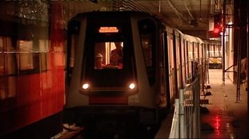 Mężczyzna potrącony przez pociąg metra. Zamknięta stacja Służew
