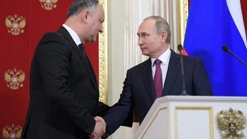 Rosyjskie media: wizyta prezydenta Mołdawii zwycięstwem Rosji