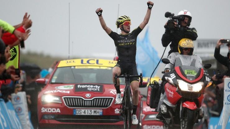 Tour de France: Yates wygrał etap, mały kryzys lidera