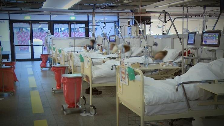 Szef szpitala na PGE Narodowym: od poniedziałku więcej łóżek dla pacjentów