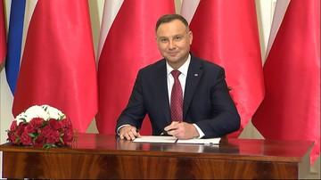 """Prezydent podpisał nowelizację ustawy rozszerzającej """"500+"""" na pierwsze dziecko"""