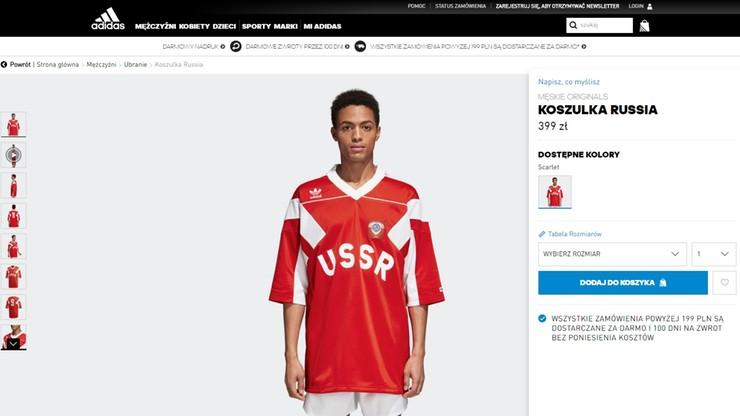 Adidas wypuścił kolekcję ubrań z sierpem i młotem. Litewskie MSZ oburzone
