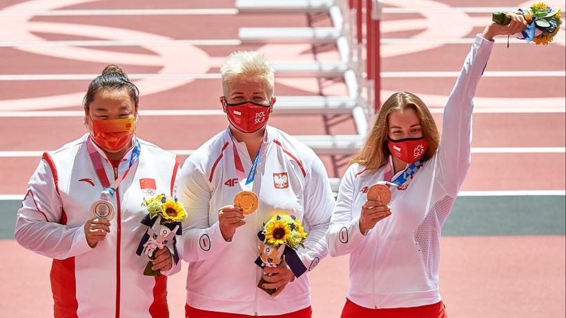 Tokio 2020: Anita Włodarczyk i Malwina Kopron odebrały medale