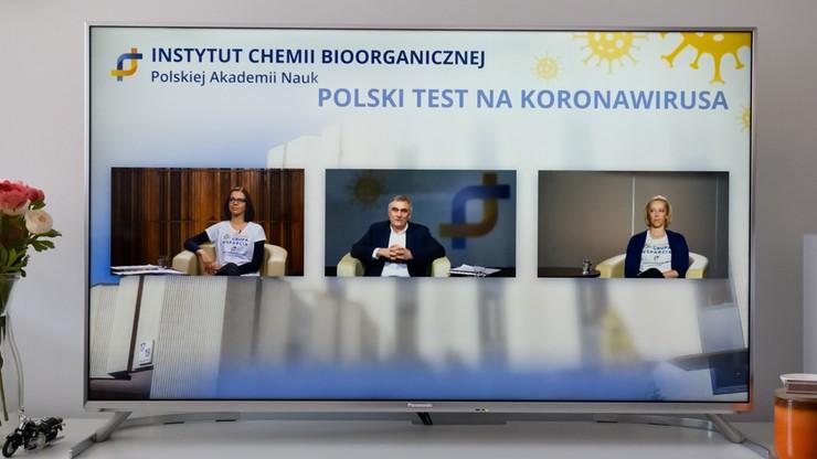 Polskie testy na koronawirusa. 10 tys. sztuk w przyszłym tygodniu