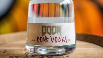 Nową odsłonę gry DOOM promuje wódka z krowich kości