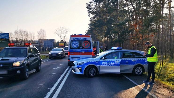 Brodnica. Samochód dostawczy potrącił kobietę i dwoje dzieci. 34-latka zginęła na miejscu