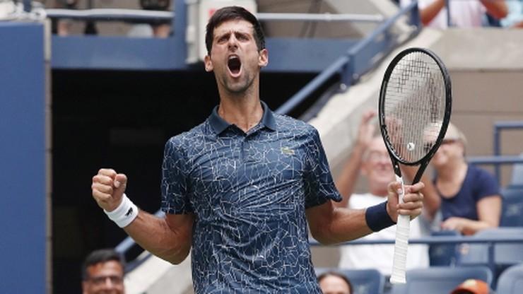 US Open: Djokovic stracił seta w pierwszej rundzie