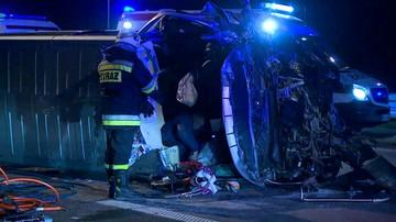 Śmiertelny wypadek na trasie S8. Kierowca opla jechał pod prąd