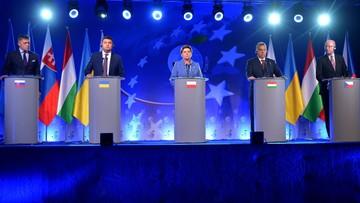Premier Szydło w Krynicy: Grupa Wyszehradzka ma receptę na UE. Wsparła też Ukrainę