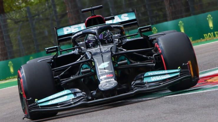 GP Emilii-Romanii: 99. pole position Lewisa Hamiltona