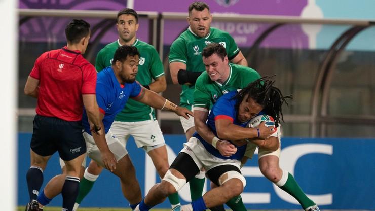 PŚ w rugby: Irlandia awansowała do ćwierćfinału