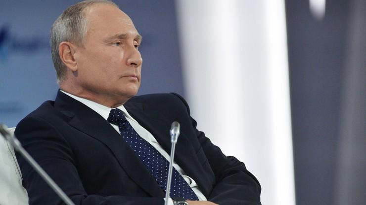 Putin zlecił wprowadzenie nowych sankcji gospodarczych wobec Ukrainy