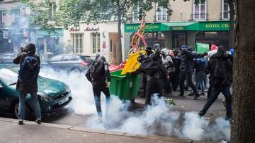 Francja: starcia podczas manifestacji przeciw reformom prawa pracy
