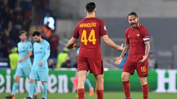 Sensacja w Rzymie! AS Roma wyrzuciła Barcelonę z Ligi Mistrzów