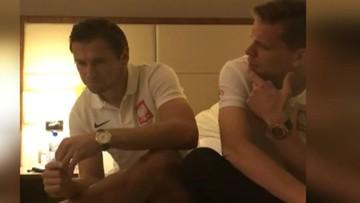 """""""Krycha, może pojedziemy sobie razem gdzieś w lato?"""" Kolejny hit duetu Krychowiak-Szczęsny"""