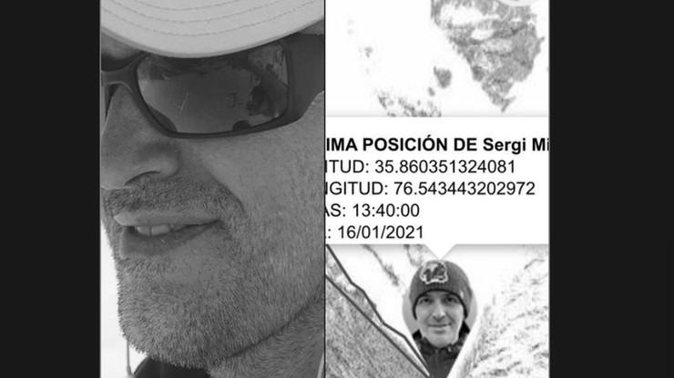 Śmierć na K2. Hiszpana Sergiego Mingote próbowali ratować Polacy