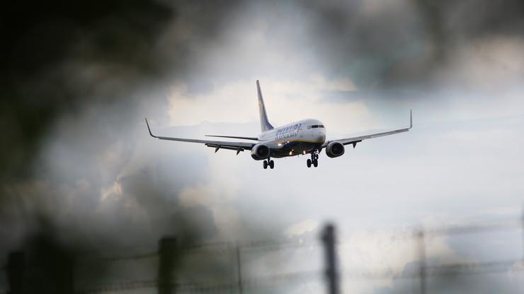 Uszkodzony Boeing na lotnisku w Rzeszowie