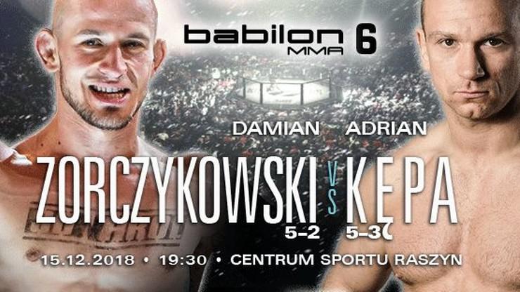 Babilon MMA 6: Trzecia walka dodana do karty!