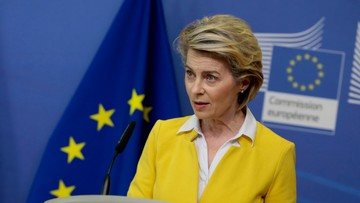 Von der Leyen: mamy w Europie 3. falę, ale wzrost śmiertelności jest wolniejszy od zachorowań