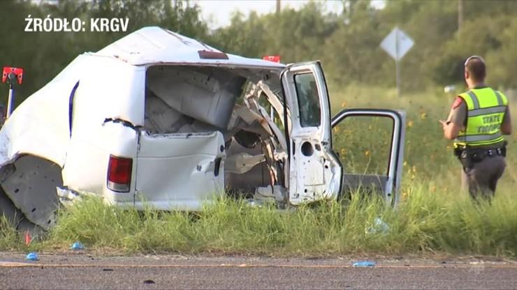 USA. Wypadek vana w Teksasie. Nie żyje 11 migrantów