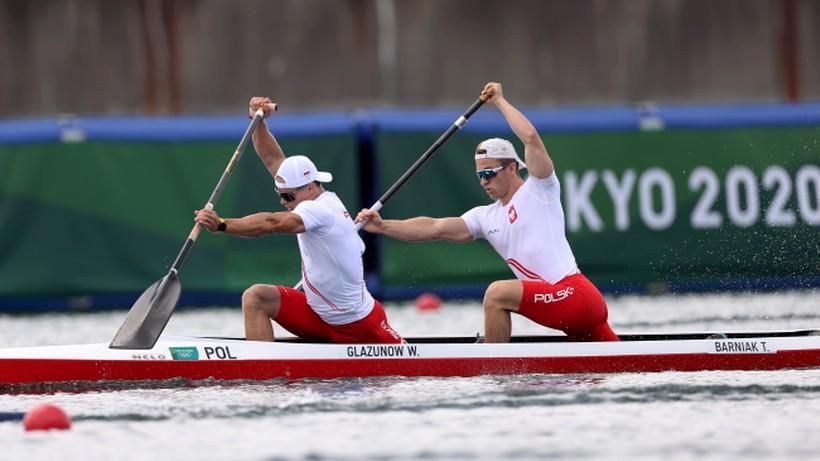Tokio 2020: Kanadyjkarze Wiktor Głazunow i Tomasz Barniak w ćwierćfinale C2 1000 m