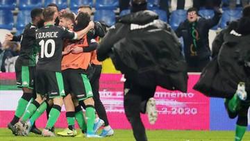 Młody Polak na treningu klubu Serie A