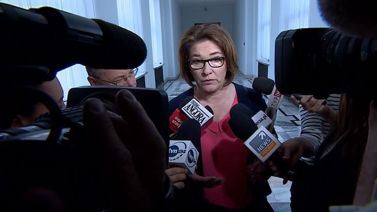 Mazurek: opinie dotyczące Małgorzaty Sadurskiej - bardzo krzywdzące i niesprawiedliwe