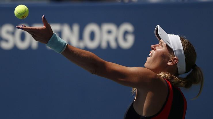 US Open: Wozniacki znów odpadła w drugiej rundzie
